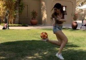 Francesca Ferragni, show sia a calcio che a basket su Instagram