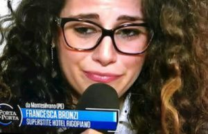 """Rigopiano, la sopravvissuta Francesca Bronzi: """"Per me il vero trauma è stato perdere Stefano"""""""