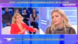 Francesca Cipriani scoppia in lacrime a Pomeriggio 5