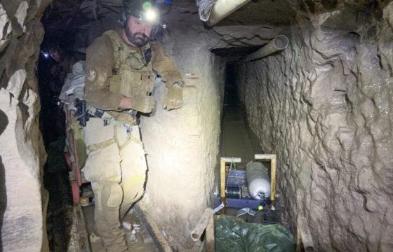 Tunnel narcos collega dal Messico a San Diego: la foto