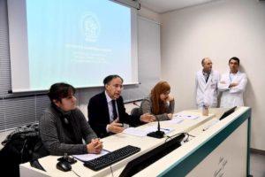 La conferenza stampa al Gaslini con Shelina