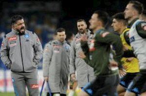 """Napoli, Gattuso furioso con i giornalisti: """"Gli amici non li ha solo Ancelotti"""""""