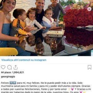 Georgina Rodriguez e Cristiano Ronaldo si sono sposati? L'indizio su Instagram