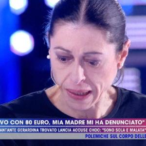 Gerardina Trovato a Live Non è la D'urso: mia madre Agata Russo...