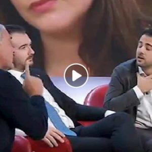 L'Aria che tira: Massimo Giletti litiga con Marco Furfaro in diretta e se ne va