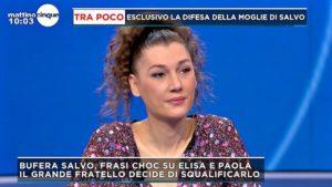 """Mattino Cinque, Giusy Merenda difende il marito Salvo Veneziano: """"Chiedo scusa a nome suo. E' stato un momento di goliardia eccessivo"""""""