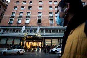 Coronavirus Roma: terzo caso all'Hotel Palatino? E' un operaio rumeno in contatto coi due cinesi