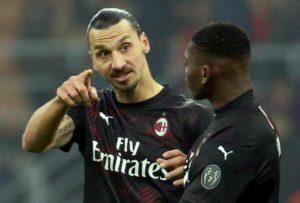 """Milan, Ibrahimovic: """"Volevo segnare ed esultare come Dio. Gol arriverà la prossima"""""""