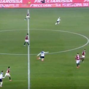 Torino-Atalanta 0-5, Ilicic gol con punizione da centrocampo