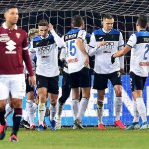 Torino-Atalanta 0-5, tripletta di Ilicic: nerazzurri agganciano Roma in zona Champions
