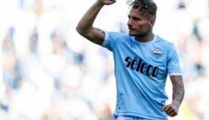 Lazio da scudetto, 5-1 alla Sampdoria con tripletta di  Immobile
