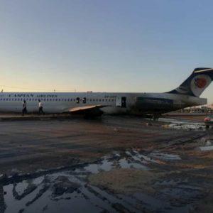 Iran, aereo fuori pista a Mahshahr VIDEO. Velivoli vecchi, il governo dice che è colpa delle sanzioni Usa?