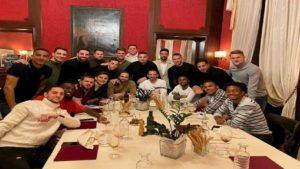 Juventus a cena ma Cristiano Ronaldo non c'è...