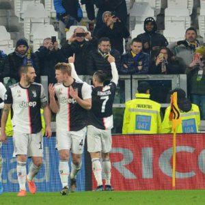 Juventus-Parma, foto Ansa
