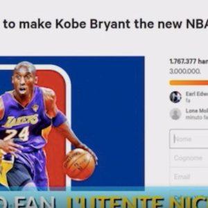 Kobe Bryant è morto, petizione online per cambiare logo NBA