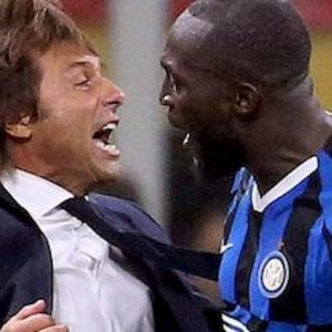 """Inter, Conte polemico su Sky: """"Lukaku è una pippa... ora tutti sul carro"""""""