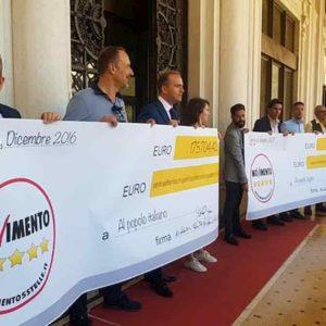 M5S restituzioni finisce a forfait: 3000 euro e non se ne parli più. Triste storia dei rimborsi al popolo