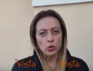 """Giorgia Meloni attacca Luigi Di Maio sulla Popolare di Bari: """"Con quale faccia parla?"""" VIDEO"""
