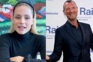 """Sanremo 2020, Amadeus """"ferito"""" da Michelle Hunziker. """"Da lei non se lo aspettava proprio"""""""