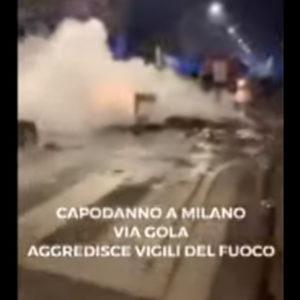 Vigili del fuoco aggrediti a Milano: 9 indagati sono teppisti