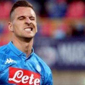 Serie A, Napoli-Fiorentina 0-0: Milik sfida Cutrone