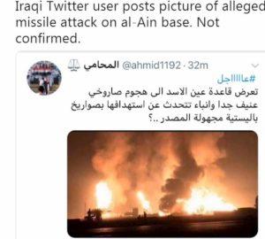 missili base usa iraq twitter