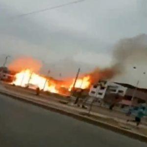 Perù, esplode autocisterna di gas a Villa El Salvador: 14 morti tra cui 5 bambini
