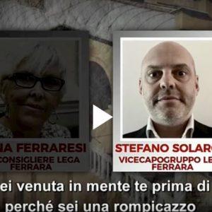 """Stefano Solaroli (Lega Ferrara) offre un posto di lavoro a consigliera dissidente per togliersela """"dai cogli***"""""""
