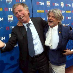 Genova, allarme anche nel calcio. Genoa e Samp a rischio B, la triste parabola di Preziosi e Ferrero