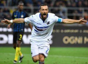 Sampdoria, Quagliarella a 158 gol in Serie A: superati Mancini e Toni