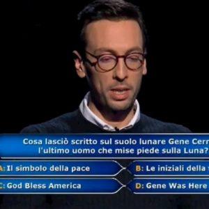 """Enrico Remigio, la confessione dopo la vittoria a Chi Vuol Essere Milionario: """"La risposta non la sapevo"""""""
