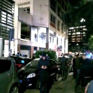 Evacuata la sede di Repubblica