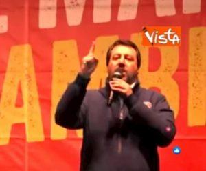 """Bibbiano, Salvini: """"Sul bene dei bambini la politica non dovrebbe dividersi"""" VIDEO"""