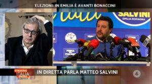 Elezioni Emilia Romagna, Salvini pronuncia la parola mai detta: se perdo...
