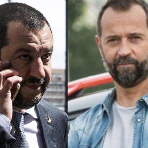 """Fabio Volo contro Salvini: """"Vai a citofonare ai camorristi, str... senza palle"""""""
