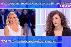 """Pomeriggio 5, la moglie di Salvo Veneziano: """"Frasi su Elisa De Panicis? Erano metafore"""""""