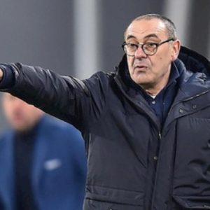 """Napoli-Juventus, striscioni contro Sarri in tutta la città: """"Gobbo bastar.. ti sei calato le mutande"""""""