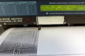 sismografo foto ansa