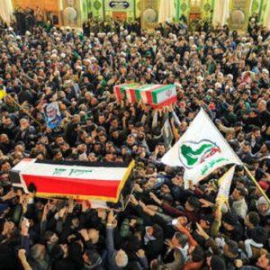 I funerali del generale Qassem Soleimani