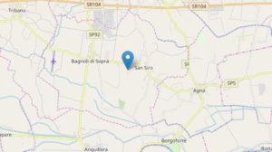 Terremoto Padova, scossa tra Bagnoli di Sopra e Agna del 2.6