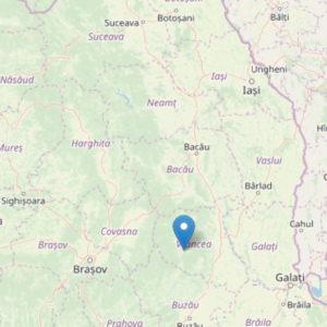 Terrmeoto Romania, scossa del 5 vicino Nereju al confine con la Moldavia