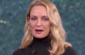 Che tempo che fa, Uma Thurman si commuove per Giulio Regeni VIDEO