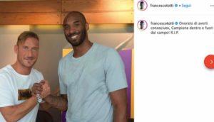 Kobe Bryant è morto: dal Milan ai campioni NBA, lo ricordano tutti sui social