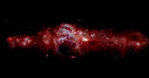 Via Lattea, immagine dettagliata del buco nero e del centro della galassia