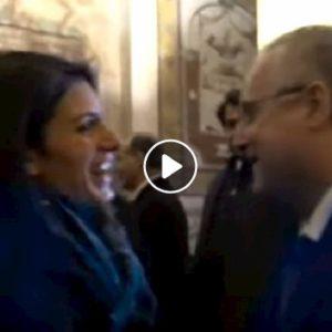 """Virginia Raggi: """"la Lazio è la prima squadra della capitale"""". Festa per i 120 anni biancocelesti VIDEO"""