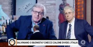 Vittorio Sgarbi su Checco Zalone: E' un moderno Alberto Sordi