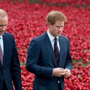 """Il principe William rassegnato: """"Io e Harry due entità separate. Non posso più proteggerlo"""""""
