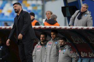 """Napoli-Lecce, Gattuso furioso con l'arbitro ma anche con se stesso: """"Ho fatto una str****a"""""""
