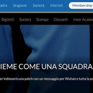 Coronavirus, Inter sfida Milan nel derby con maglia speciale pro Cina FOTO