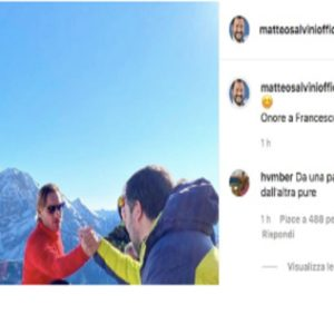 Salvini, Totti